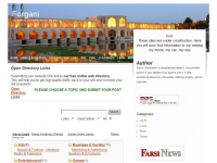 Isfahan WordPress Theme