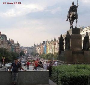 Prag, (Praha) Aug. 2016