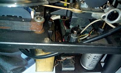 EL 95, Ausgang-Trafo und Netztrafos, die Silizium-Gleichrichter