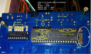 LED Cube board - STC12C5A60S2 and serial port