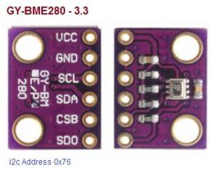 BME280 Barometric Pressure