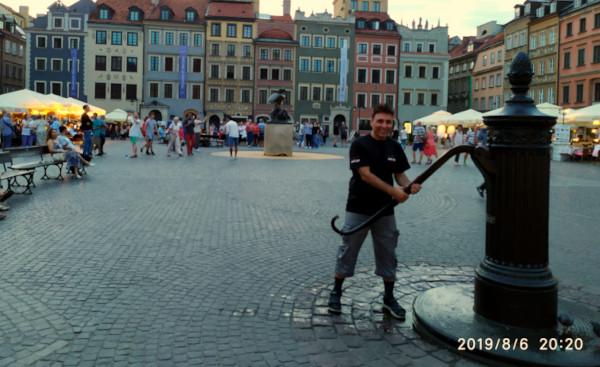 Warsaw Poland (Aug. 2019)